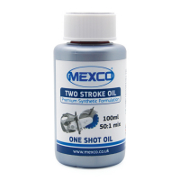 Image for ONE SHOT OIL - 2 STROKE, RED, 100ml, 50:1 MIX