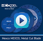 Promotional Video MEXCEL Metal Cut Blade