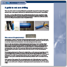 Wet Core Drilling Guide